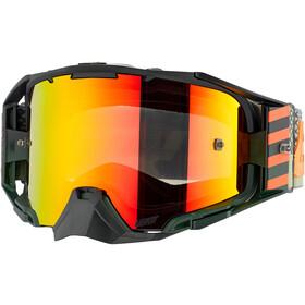 Leatt Velocity 6.5 Iriz Goggles with Anti-Fog Mirror Lens cactus red